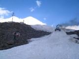 Снегоболотоход пневматик. Вездеход на ледниках Эльбруса