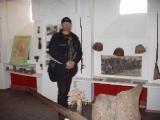 Пневматик вездеход на Эльбрусе. На вездеходе по ледникам