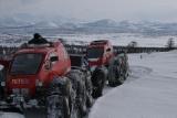 Снегоболотоход пневматик. Вездеход на Камчатке